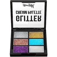 Image of Barry M Cream Glitter Palette