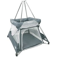 BabyHub SleepSpace travel cot and tepee - grey