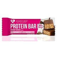 Women's Best Protein Bar Coconut Crunch flavour 44g