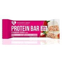 Women's Best Protein Bar Strawberry Crunch flavour 44g