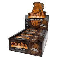 Grenade Carb Killa High Protein Bar Fudge Brownie 12 x 60g bars