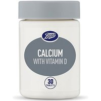 Boots Calcium and Vitamin D Food Supplement - 30 Tablets