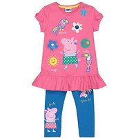 mini club Peppa Pig tunic and legging se