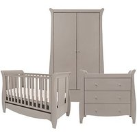 Bambini Roma Space Saver 3 Piece Room Set Truffle Grey