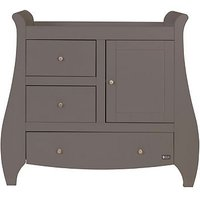 Bambini Lucas / Katie Chest Changing Unit - Cool Grey