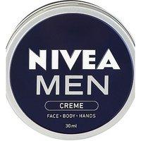 'Nivea Men Crme, All Purpose Cream For Face, Body & Hands, 30ml