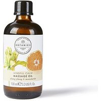 Botanics Mindful Calm Massage Oil Ylang Ylang & Mandarin - 100ml