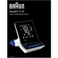Braun ExactFit 3 BUA6160 Upper Arm Blood Pressure Monitor