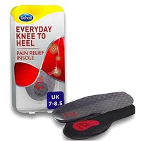 Scholl Everyday Knee to Heel Pain Relief Insole - size 7 - 8.5