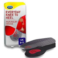 Scholl Everyday Knee to Heel Pain Relief Insole - size 9 - 11