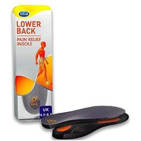 Scholl Lower Back Pain Relief Insoles - size 4.5 - 6.5