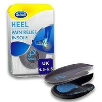 Scholl Heel Pain Relief Insoles - size 4.5 - 6.5