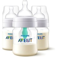Avent Anti-Colic Bottle With Airfree Vent 125ml 3 Pack