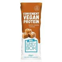 Whey Box 'No Whey' Salted Caramel Vegan Sachet - 12 x 25g