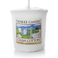 'Yankee Candle Votive Candle Clean Cotton