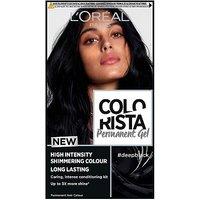 LOreal Colorista Deep Black Permanent Hair Dye Gel High Intensity Permanent Hair Colour