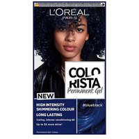 LOreal Colorista Blue Black Permanent Hair Dye Gel High Intensity Permanent Hair Colour