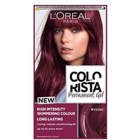 LOreal Colorista Violet Permanent Hair Dye Gel High Intensity Permanent Hair Colour
