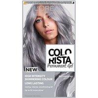 LOreal Colorista Silver Grey Permanent Hair Dye Gel High Intensity Permanent Hair Colour