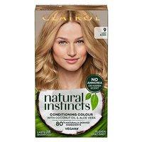 Clairol Natural Instincts Vegan No Ammonia No Parabens Semi-Permanent Hair Dye 9 Light Blonde 175ml