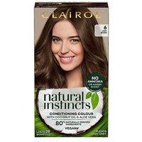 Clairol Natural Instincts Vegan No Ammonia No Parabens Semi-Permanent Hair Dye 6 Light Brown 175ml