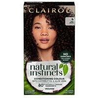 Clairol Natural Instincts Semi Permanent Nutmeg Brown 4