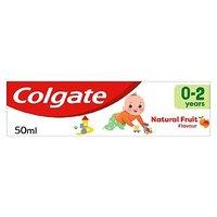Colgate Kids Mild Fruit Toothpaste 0 2 Yrs
