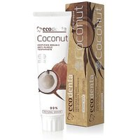 Ecodenta Cosmos Organic Anti Plaque Toothpaste With Coconut Oil And Zinc Salt 100ml