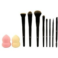 A Little Something Blend + Bronze Cosmetic Brush Set