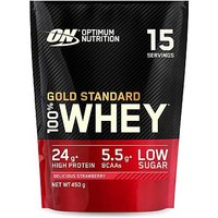 'Optimum Nutrition Gold Standard 100% Whey Delicious Strawberry Flavour - 450g
