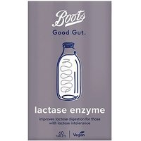 Boots Good Gut Lactase Enzyme  60 Tablets