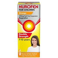 Nurofen For Children Orange 200mg 5mg Oral Suspension 100ml
