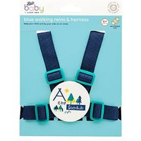Boots Baby Harness & Reins - Blue