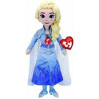 'Ty - Frozen 2 Disney Princess Elsa Plush Doll With Sound