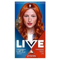 Schwarzkopf LIVE Colour + Lift L74 Tangerine Twist Permanent Hair Dye