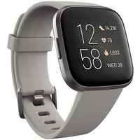 Fitbit Versa 2   Stone Mist Grey