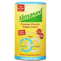 Almased Soya, Yogurt and Honey Meal Replacment Almond Vanilla Flavour - 500g