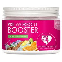 Womens Best Pre Workout Booster Tropical Punch Powder   300g