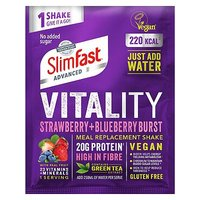 SlimFast Advanced Vitality Strawberry and Blueberry Meal Replacement Shake 50g