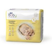 Boots Baby Newborn Nappies Size 1, 24 Nappies 2-5kg