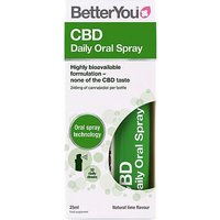 BetterYou CBD Daily Oral Spray Lime 25ml