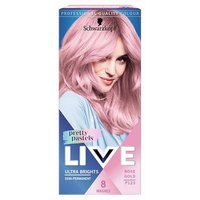 Schwarzkopf LIVE Pretty Pastels Rose Gold Semi-Permanent Hair Dye