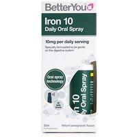 BetterYou Iron 10 Daily Oral Spray 25ml
