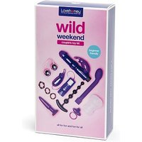 Image of Lovehoney Wild Weekend 11 Piece Couple's Toy Kit