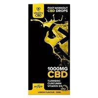 Vitality CBD Active 1000mg CBD Lemon Flavour Drops 30ml