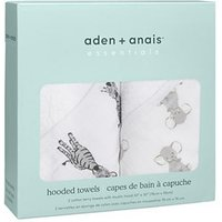 aden + anais essentials Hooded Towel 2-pack Safari Babes