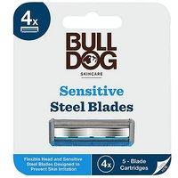 Bulldog Sensitive Bamboo Razor Blades 4s