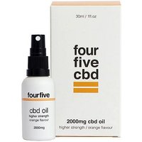 Fourfivecbd 2000mg CBD Oil Higher Strength   Orange Flavour 30ml