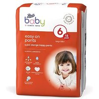 Boots Baby Easy On Pants Size 6, 18 Pants 16kg+