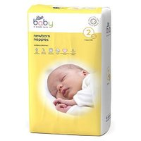 Boots Baby Newborn Nappies Size 2, 42 Nappies 3-6kg